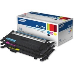 Samsung CLT-P407A Toner Cartridge - Yellow, Magenta, Cyan