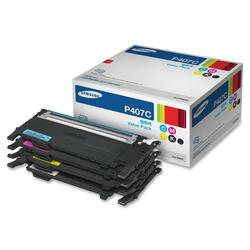 Samsung CLT-P407C Toner Cartridge - Black, Yellow, Cyan, Magenta