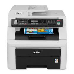 Brother MFC-9125CN Laser Multifunction Printer - Color - Plain Paper