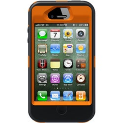 Otterbox Defender Carrying Case (Holster) for iPhone - Orange
