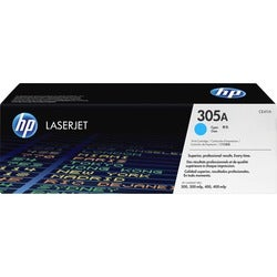 HP 305A Cyan Toner Cartridge for Color LaserJet Pro Printers