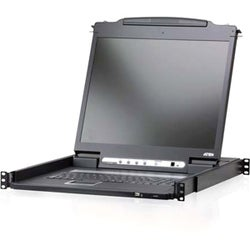 Aten CL6700N Rackmount LCD with KVM