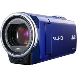 JVC Everio GZ-E10 Full HD Blue Digital Camcorder