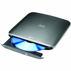 LG BP40NS20 External Blu-ray Writer - Retail Pack