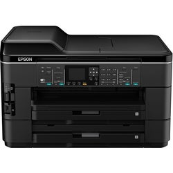Epson WorkForce WF-7520 Inkjet Multifunction Printer - Color - Plain