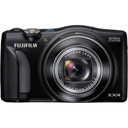 Fujifilm FinePix F750EXR 16MP Black Digital Camera