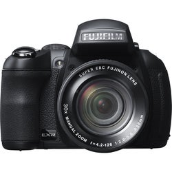 Fujifilm FinePix HS30EXR 16MP Black Digital Camera