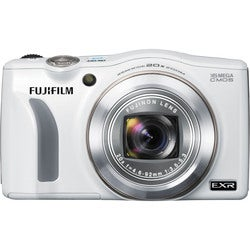 Fujifilm FinePix F750EXR 16MP White Digital Camera