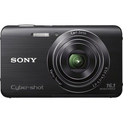 Sony Cyber-shot DSC-W650 16.1MP Black Digital Camera
