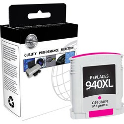 V7 Ink Cartridge - Remanufactured for HP (C4908AN) - Magenta