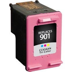 V7 Ink Cartridge - Remanufactured for HP (CC656AN) - Cyan, Magenta, Y