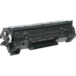V7 Toner Cartridge - Remanufactured for HP (CB435A) - Black
