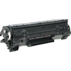 V7 Toner Cartridge - Remanufactured for HP (CB436A) - Black
