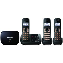 Panasonic KX-TG4753B Cordless Phone - 1.90 GHz - DECT - Black