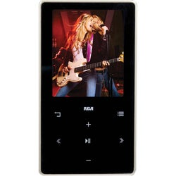 RCA M6208 8 GB Black Flash Portable Media Player