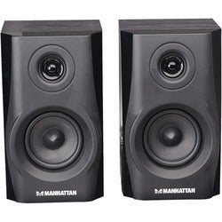 Manhattan 2.0 Speaker System - 4.4 W RMS - Wireless Speakers - Black