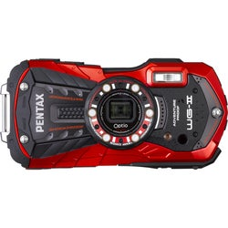 Pentax Optio WG-2 16-megapixel 16:9 Red Compact Digital Camera
