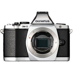 Olympus OM-D E-M5 16.1 Megapixel Mirrorless Camera (Body Only) - Silv