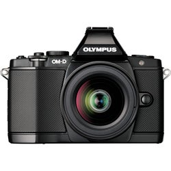 Olympus OM-D E-M5 Mirrorless Micro Four Thirds Digital Camera Black Body with 12-50mm Lens