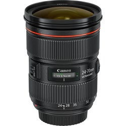 Canon 24 mm - 70 mm f/2.8 Zoom Lens for Canon EF/EF-S
