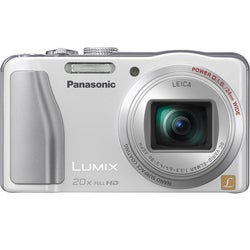 Panasonic Lumix DMC-ZS20 14.1MP White Digital Camera