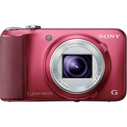 Sony Cyber-shot DSC-H90 16.1MP Red Digital Camera