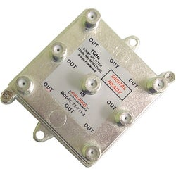 Calrad Electronics 6 Way 1GHz 130db Digital Splitter