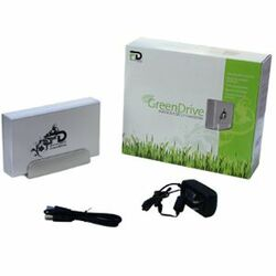 Fantom GreenDrive 3 TB External Hard Drive - Box
