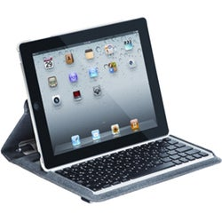 Targus Versavu THZ171US Keyboard/Cover Case for iPad - Bone White