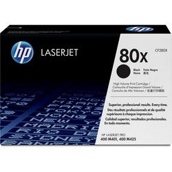 HP 80X Toner Cartridge - Black