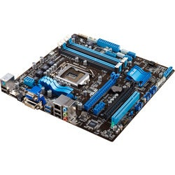 Asus P8Z77-M Desktop Motherboard - Intel Z77 Express Chipset - Socket