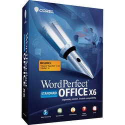 Corel WordPerfect Office v.X6 Standard Edition - Complete Product - 1