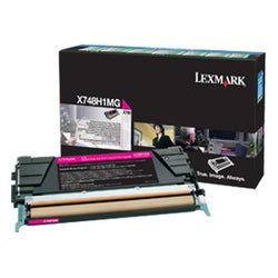 Lexmark Single Toner Cartridge - Magenta