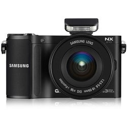 Samsung NX210 20.3MP Mirrorless Digital Camera with 18-55mm Lens