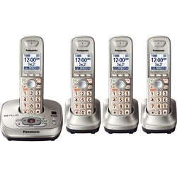 Panasonic KX-TG4034N DECT 6.0 Answering System with 4 Handsets (Refurbished)