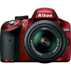Nikon D3200 24.2 Megapixel Digital SLR Camera (Body with Lens Kit) -