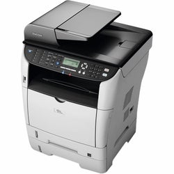 Ricoh Aficio SP 3500SF Laser Multifunction Printer - Monochrome - Pla
