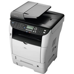 Ricoh Aficio SP 3510SF Laser Multifunction Printer - Color - Plain Pa