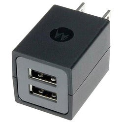 Motorola SPN5689A Dual Port Universal Wall Charger (Pack of 2)