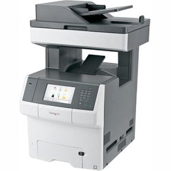 Lexmark X746DE Laser Multifunction Printer - Color - Plain Paper Prin