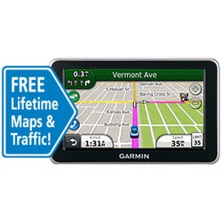 Garmin Nuvi 2360LMT GPS Navigation System with Lifetime Traffic & Maps (Refurbished)