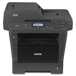 Brother DCP-8155DN Laser Multifunction Printer - Monochrome - Plain P