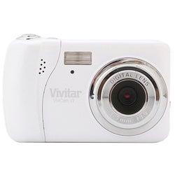 Vivitar ViviCam Vi7 7.1MP White Digital Camera