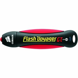 Corsair Flash Voyager GT 16 GB USB 3.0 Flash Drive - Black
