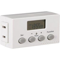 AmerTac Indoor 1-Outlet Weekly Digital Bar Timer