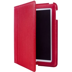 Luardi Smart Cover Cover Case (Portfolio) for iPad - Red