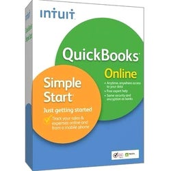 Intuit QuickBooks Online Simple Start - Complete Product