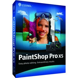 Corel PaintShop v.X5 Pro - Complete Product - 1 User