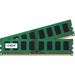 Crucial 8GB Kit (4GBx2), 240-pin DIMM, DDR3 PC3-8500 Memory Module