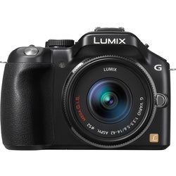 Panasonic Lumix DMC-G5KK 16.1MP Mirrorless Digital SLR Camera with 14mm - 42mm Lens